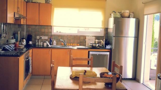 قرية Kathikas فيلا المطبخ